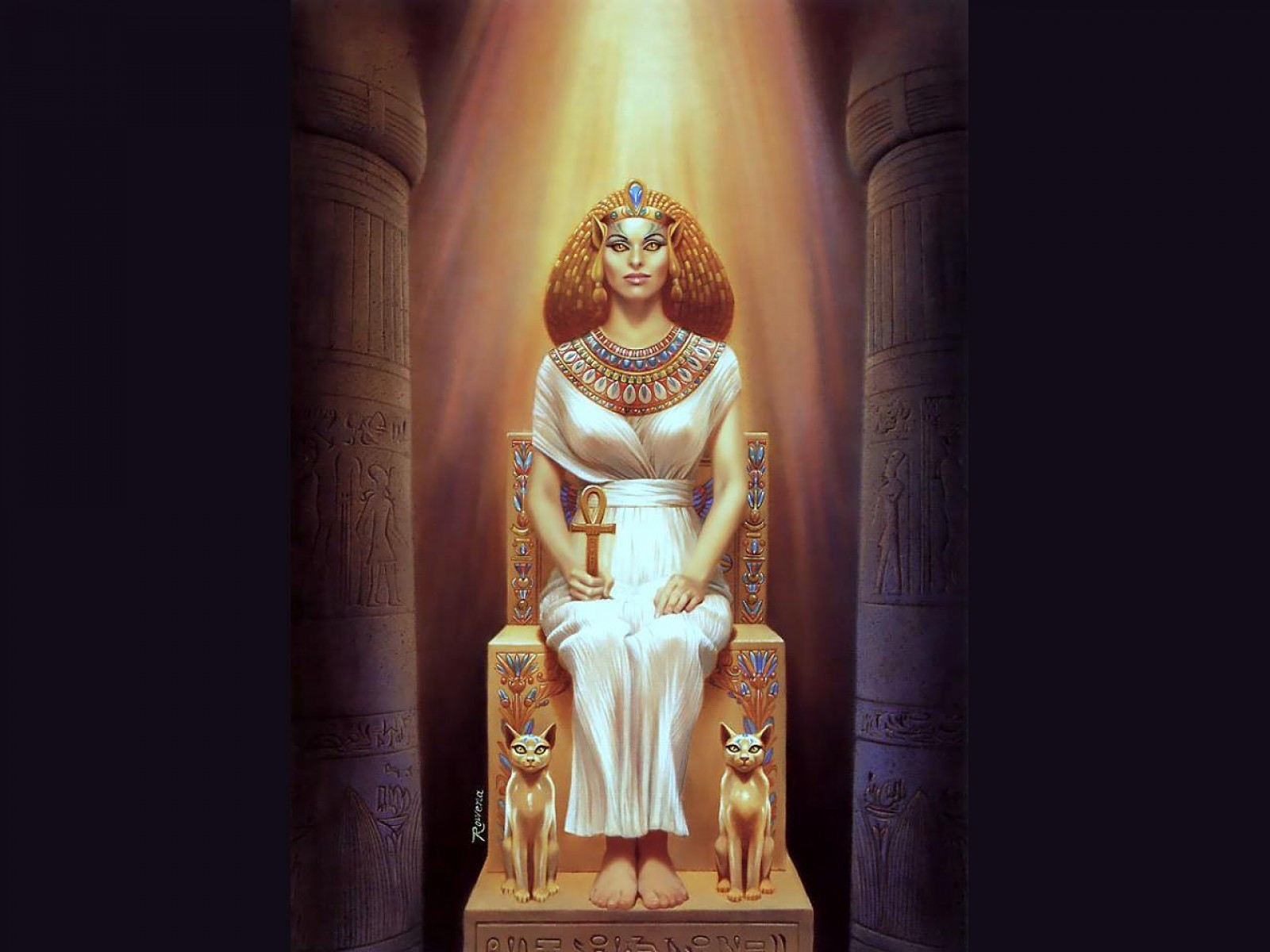 Goddess Of Egyptian Magic