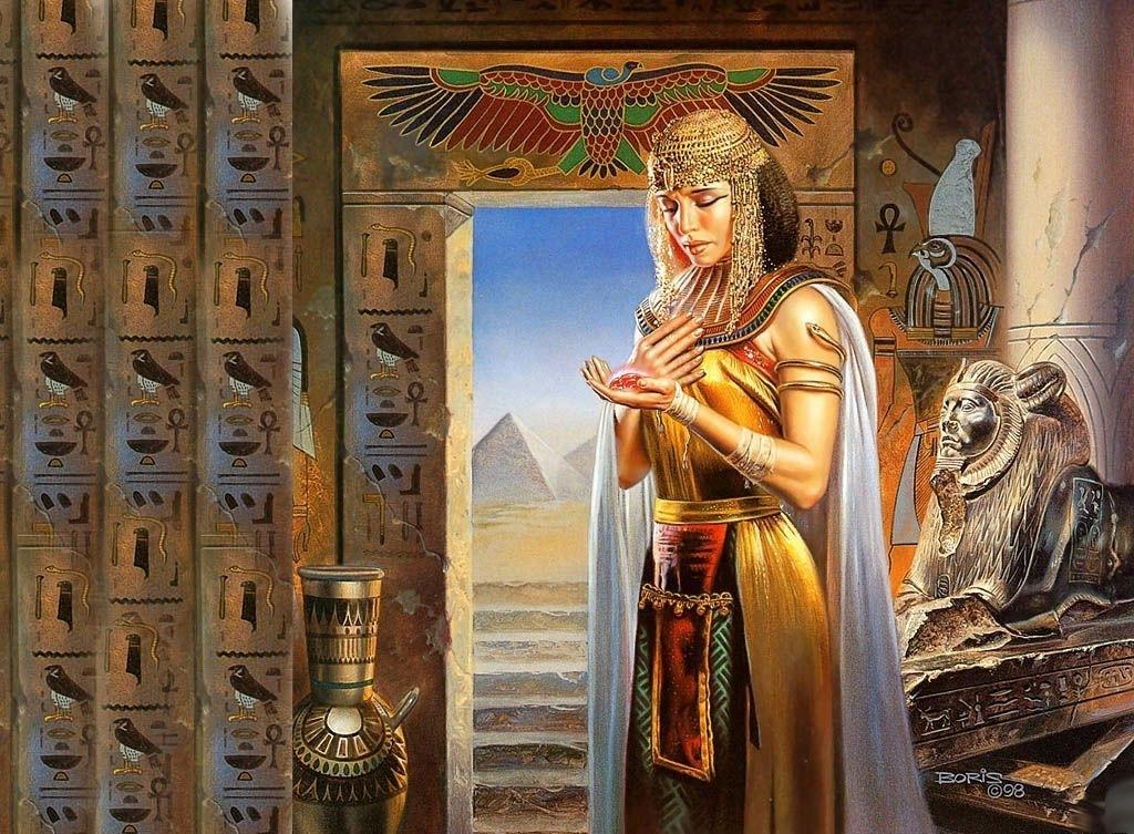 Princess Of Egypt, Egyptian Magic