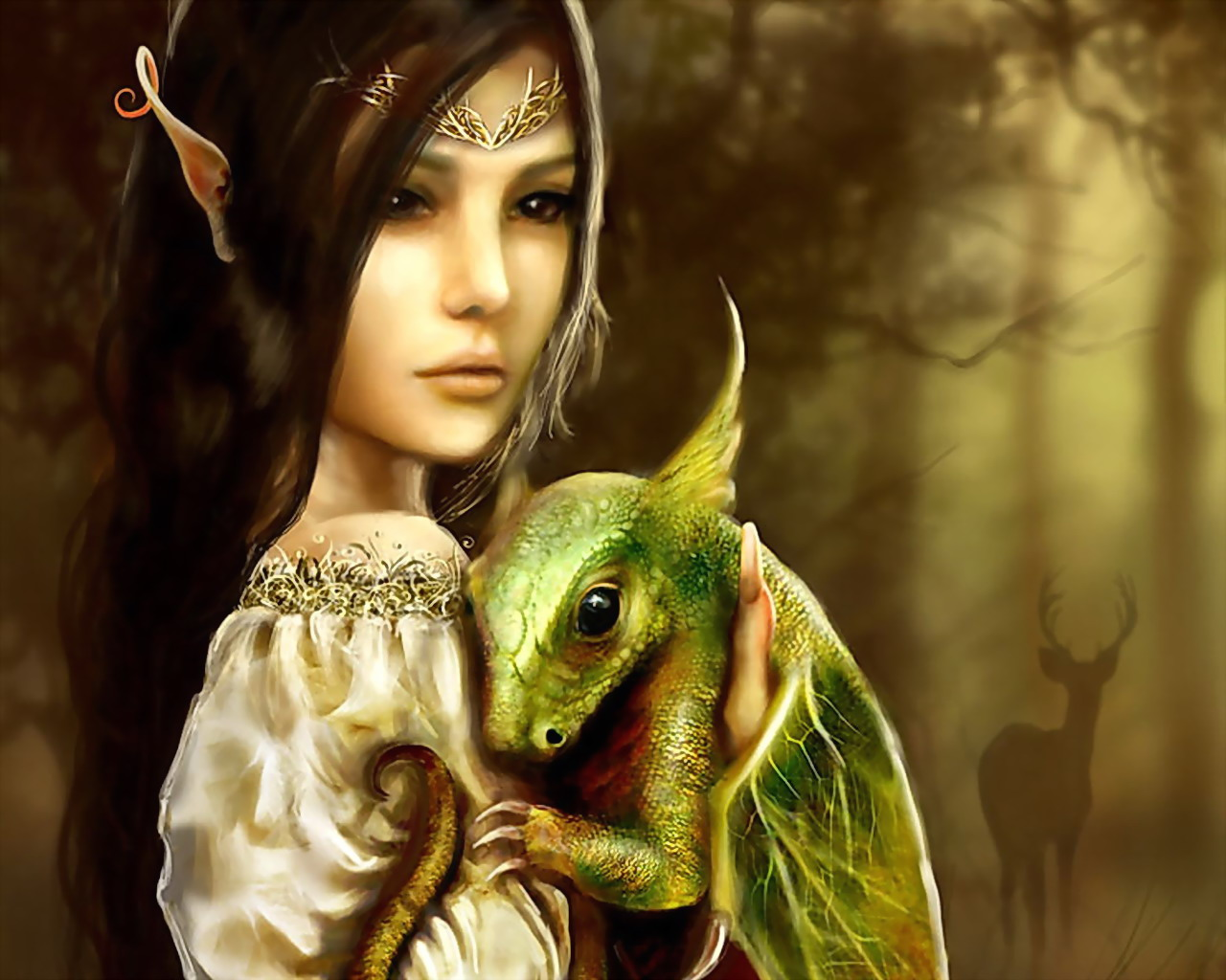 Beautiful Elf Of Life, Elven Girls 2