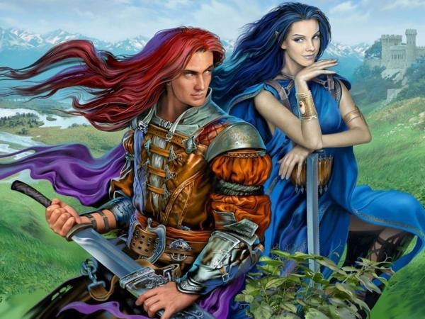 Elf Princess And Knight