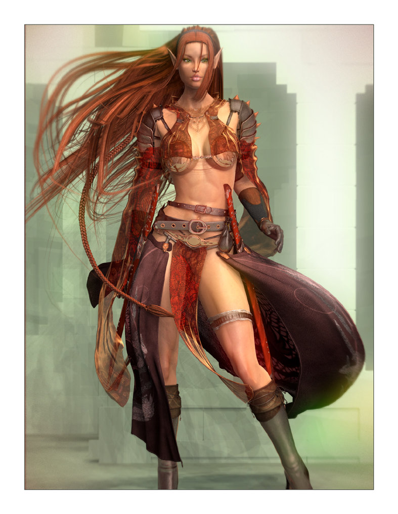 Aerin Elven Fighter