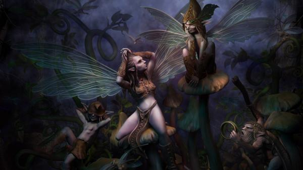 Beautiful Faerie Of Fair