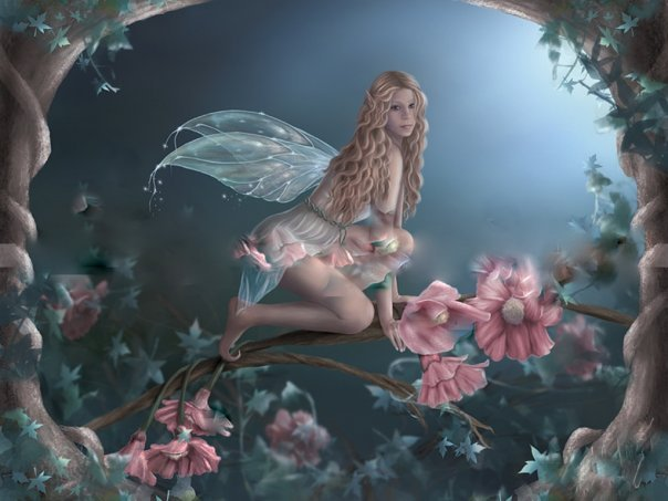 Fairy On The Rose