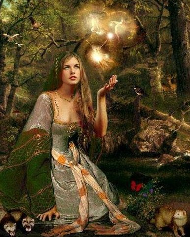 Forest Wiccan Princess