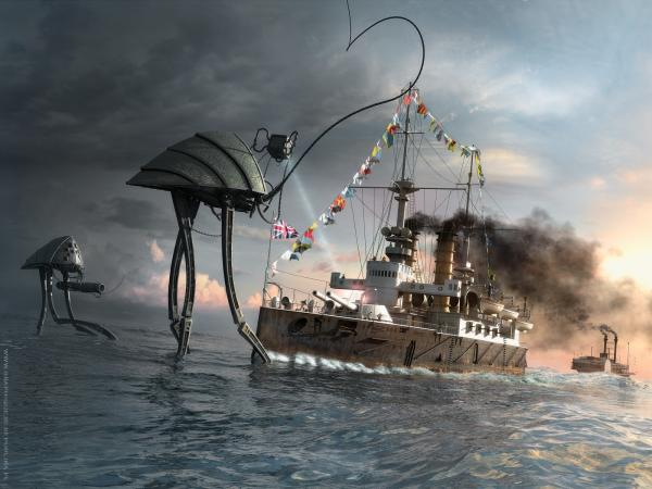 Sea Battle, Fiction 1