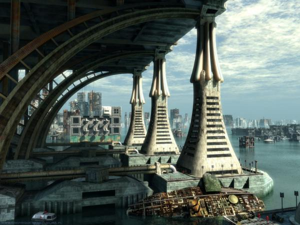 Harbor Of Space City