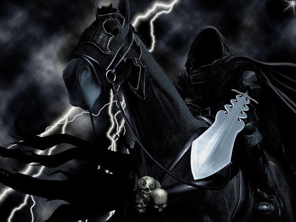 Black Lord On Horse