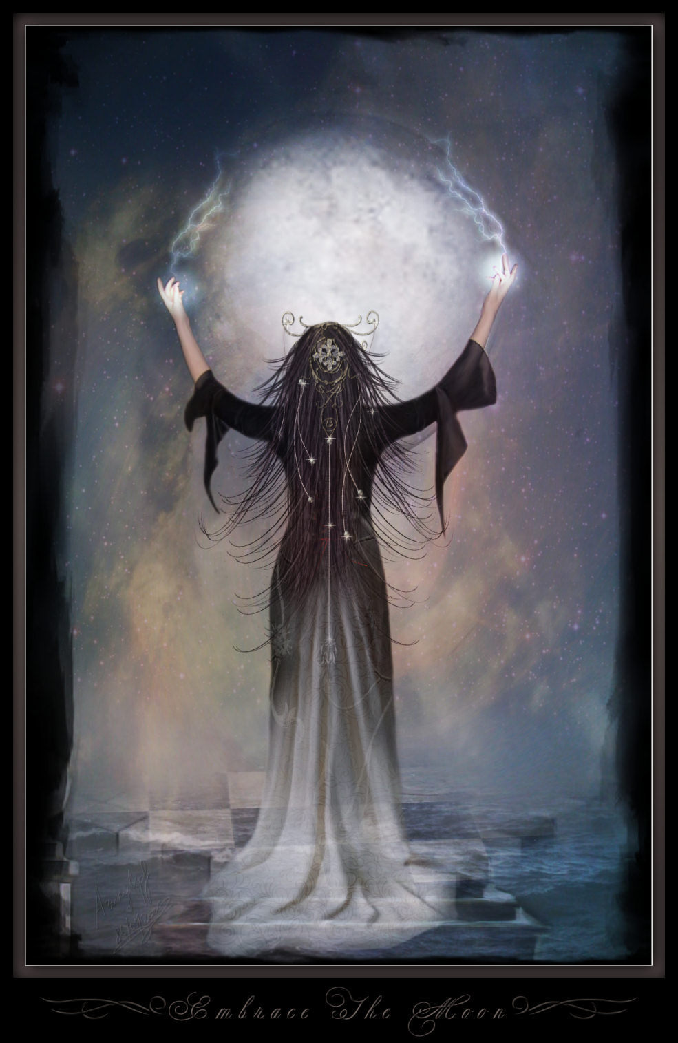 Moon Goddess Moon, Goddesses