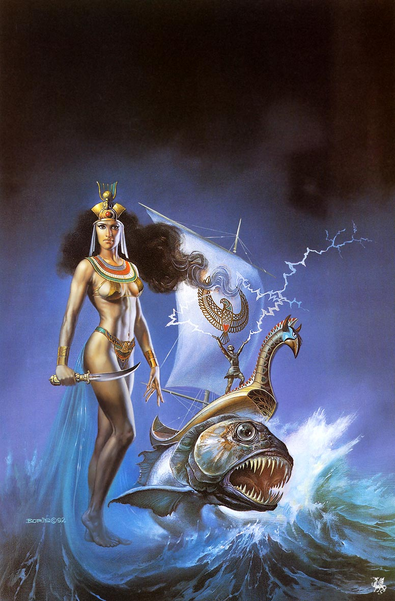 Princess Of The Ocean, Goddesses
