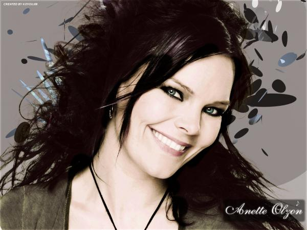 Anette Olzon Smile, Gothic Girls