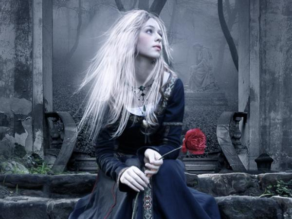 Loneliness With A Rose, Gothic Girls