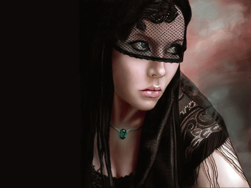 Pensive Look, Gothic Girls