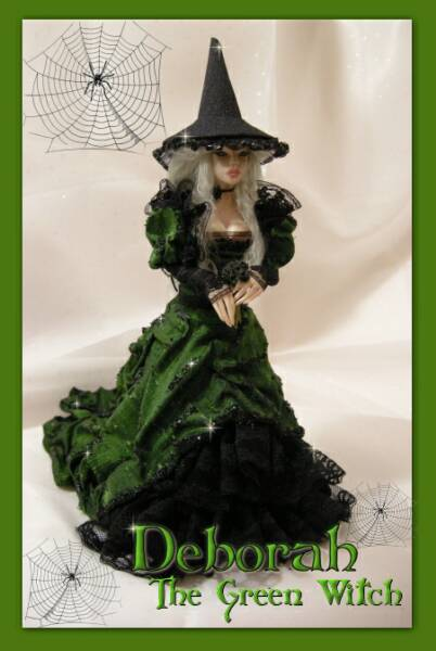 Deborah Vania S Green Witch