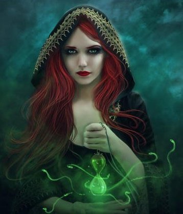 Green Wicca Casting