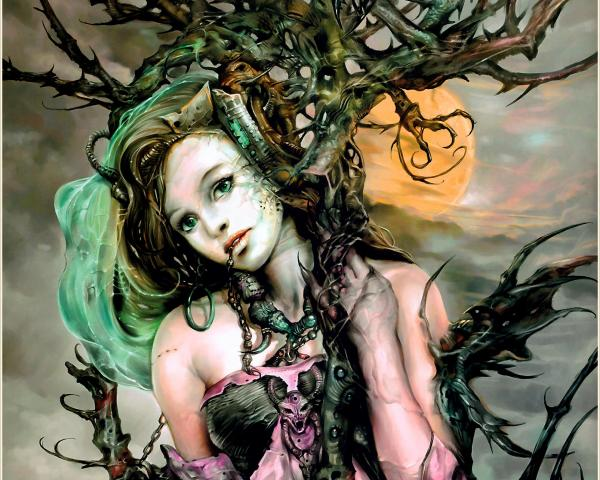 Magic Tree Girl