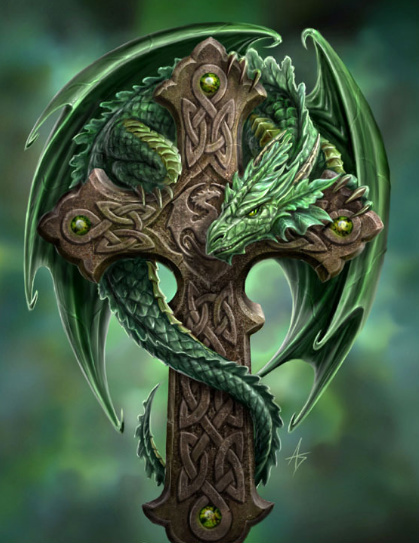 The Green Dragon Cross