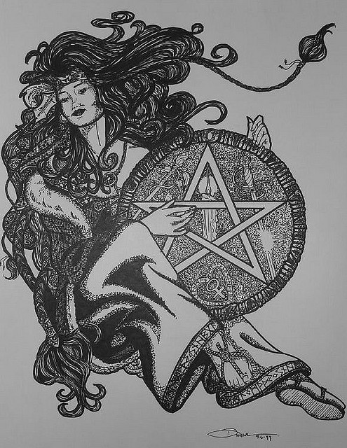 Wicca, Green Witches
