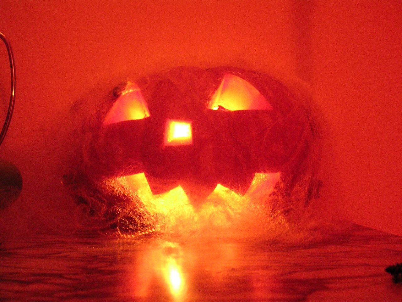 Burning Pumpkin, Halloween