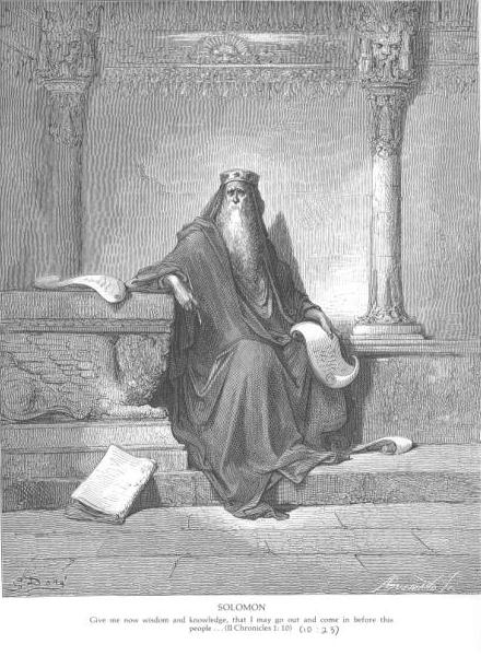 King Solomon In Old Age