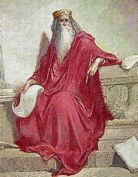 King Solomon After Dore, King Solomon