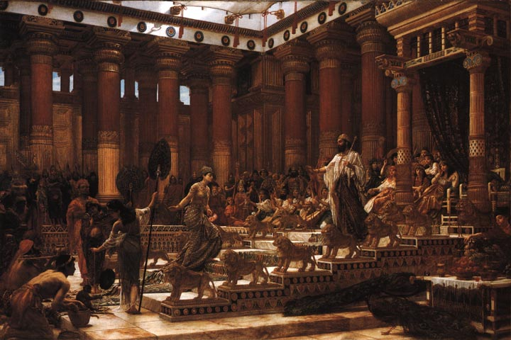Visit Of Queen Of Sheba To Solomon By Sir Edward John Poynter