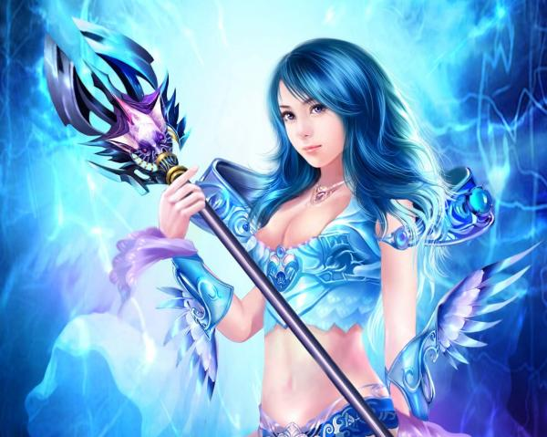 Lady Of Blue Magic, Magic And Spells