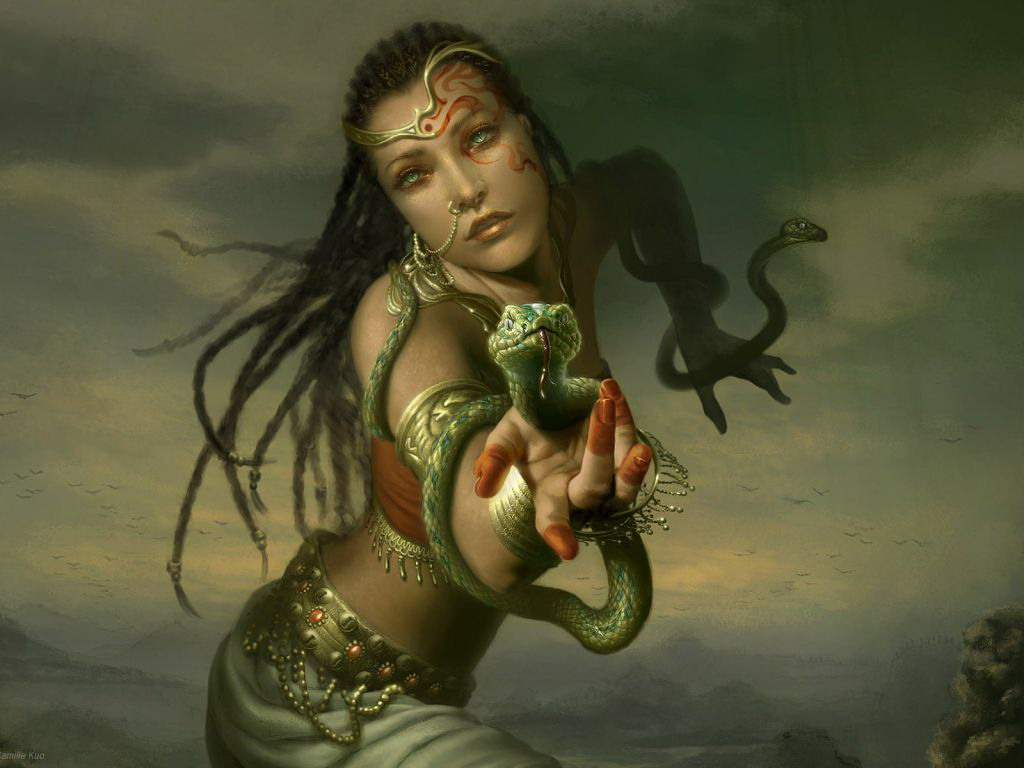 Snake Beauty, Magic Beauties 1