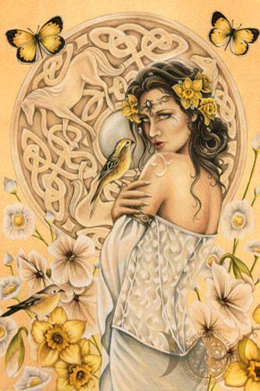 Golden Wiccan Fairy Beauty
