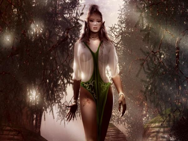 Girl In Magic Tree Alley, Magic Beauties 3