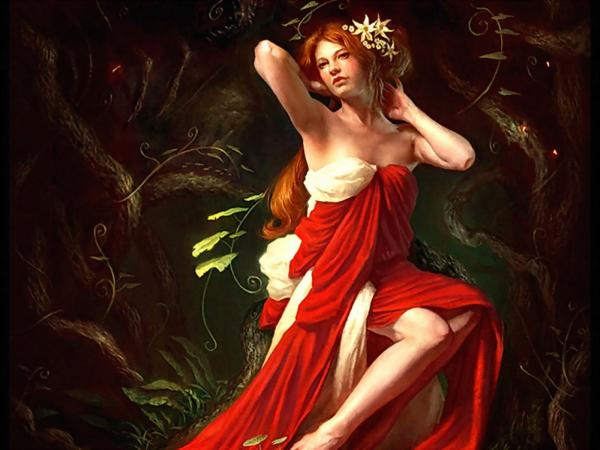 Red Girl Soul Of Forest, Magic Beauties 3
