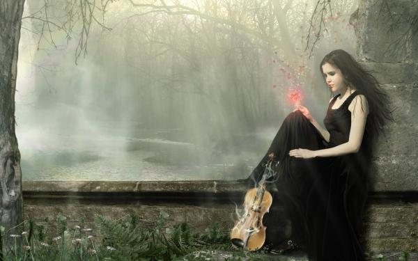 Song Of Heart Of Violin