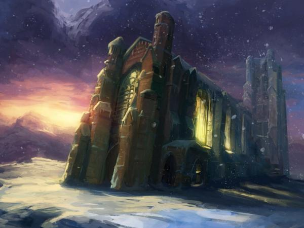Citadel In Snow, Magical Landscapes 1