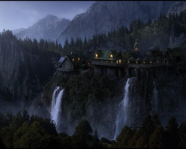 Little Village Of Waterfalls, Magical Landscapes 2