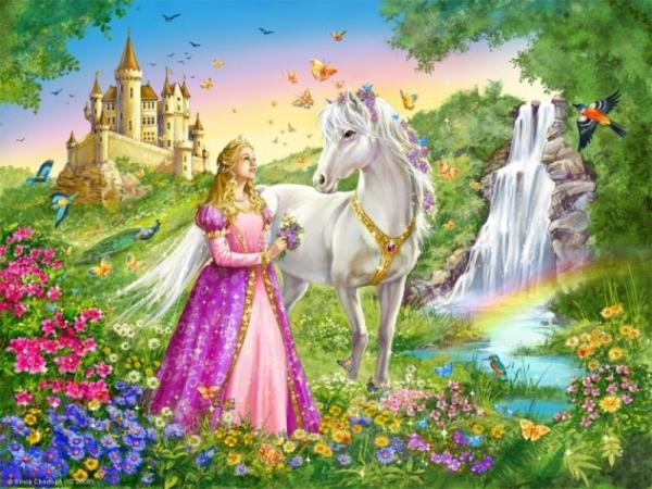 Princess In Magical Land, Magical Landscapes 2