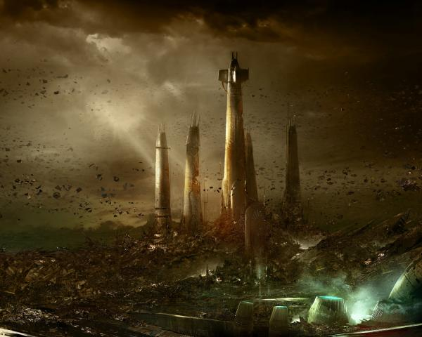 Towers Of Stone Planet, Magical Landscapes 2