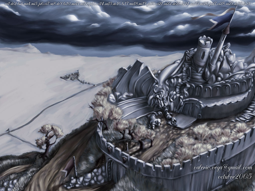 Horror Landscape Of Fantasy 4