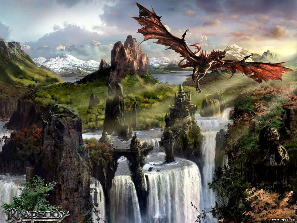 Magick Landscape From Nightmare 2, Magical Landscapes 6