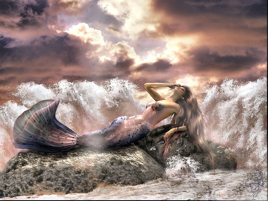 Mermaid In Waves, Mermaids