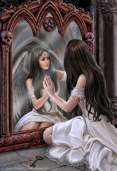 Princess And Mirror