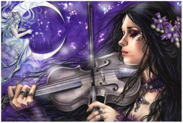 Night Song Of The Violin
