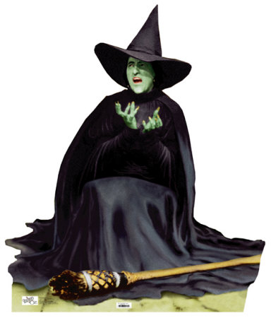 Wicked Witch Melting Wizard