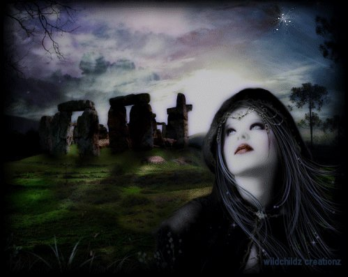 Blind Witch And Stonehenge