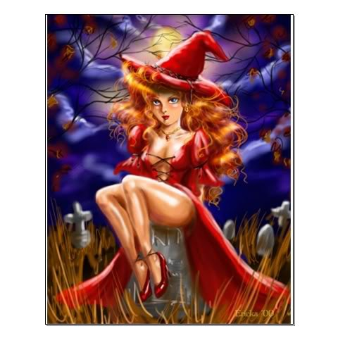 Red Hat Witch, Pretty Witches