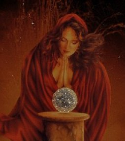 Red Witch And Magic Sphere, Pretty Witches