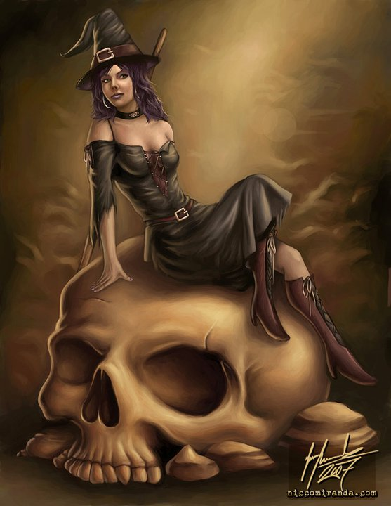 Witch And Scull, Pretty Witches
