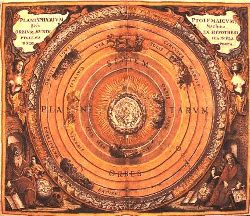 The Seven Planets In The System Of Ptolemy