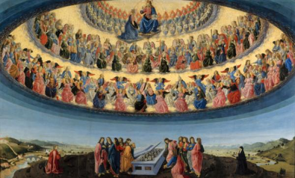 The Three Heavens And The Nine Hierarchies Of Angels