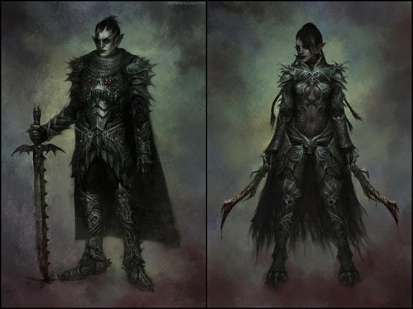 Dark Elves, Warriors
