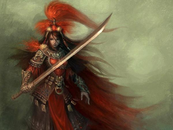 Red Samurai Knight