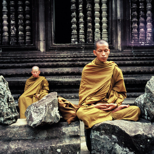 Monks Find Peace